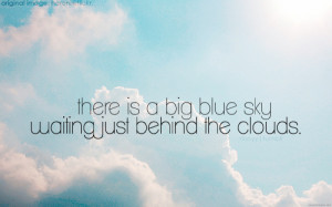 sky blue quotes