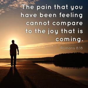 Pain vs. Joy. God I hope so