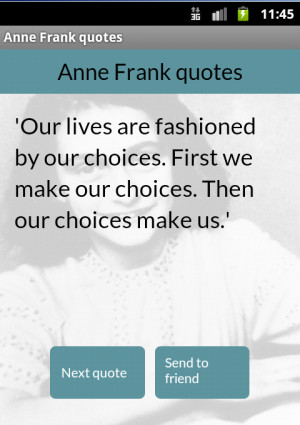 the anne frank quotes this is the best collection over 450 anne frank ...