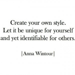 anna wintour, fashion, others, quote, quotes, sentence, style, text ...