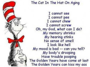 The cat in the hat on ageing
