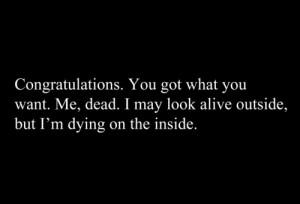... life depressed sad quotes Typography pain hurt broken dead dying alive