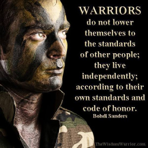 The Warrior – How True Warriors Are Different