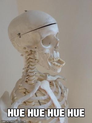 Skeleton Having A Good Time