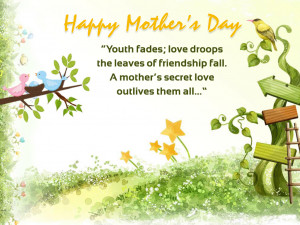 Special mother day wallpaper with quotes