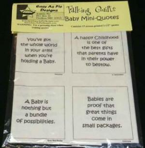 Baby Mini-Quotes