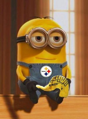 PITTSBURGH STEELERS~Minion loves Steelers Lisa Almond Martin ...