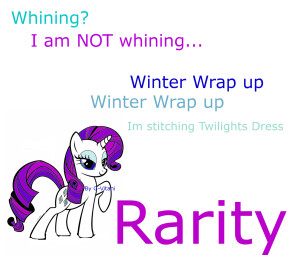 Rarity Quotes and drawing by G-Vitani by G-Vitani