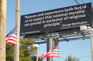 ... and state advocates bent on removing religion from the public square