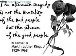 The Silence Of Good People