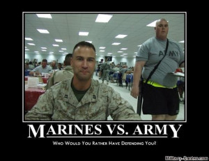 Then why not just expand the Marines and have them replace the Army?