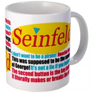 CafePress Seinfeld Quotes Logo Mug - Standard Multi-color