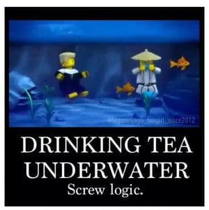 It's Sensei Wu logic