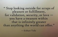 eckhart tolle pain body quotes | My inability to 'feel' had ...