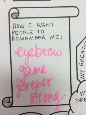 ... Eyebrows Games, Eyebrows Quotes, Makeup, Funny, Make Me Laugh