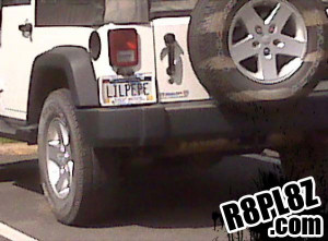 Well I'll be damned! I didn't know Justin Bieber drove a Jeep.
