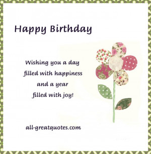 Related Pictures all greatquotes happy birthday today is your birthday ...