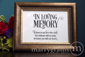 Table Card - Wedding Reception Seating Signage - Family Photo Table ...
