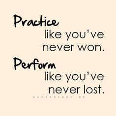 ... mentality and inspiration. Martial arts quotes Practice and Perform
