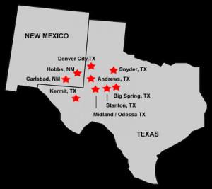 Midland Texas Oil Fields