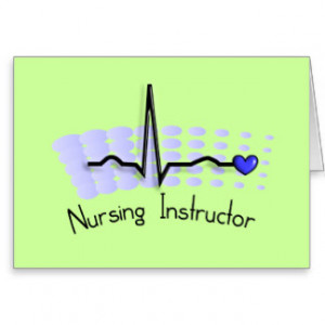 nursing instructor thank you card source http zazzle com nursing ...