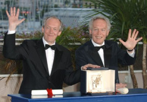 Jean-Pierre Dardenne and Luc Dardenne at event of L'enfant (2005)