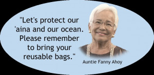 ... remember to bring your reusable bags.