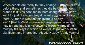 Ready For Change Quotes