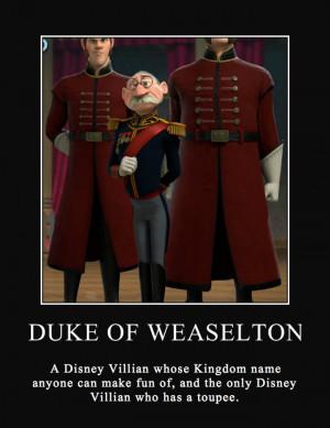 Disney's Frozen: Duke of Weselton Motivational by FlyingFreedom13