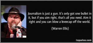 More Warren Ellis Quotes