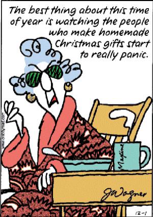 Maxine Christmas Clip Art