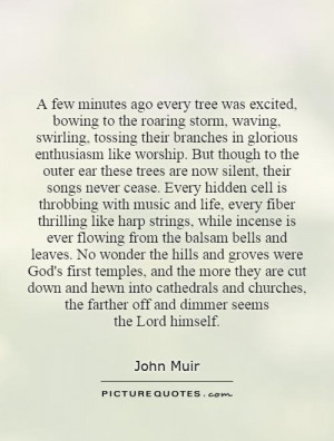 John Muir Quotes Trees