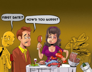 First Date Cartoon