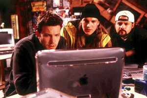 "... Silent Bob Strike Back — reprisal of Holden, and as ""himself"