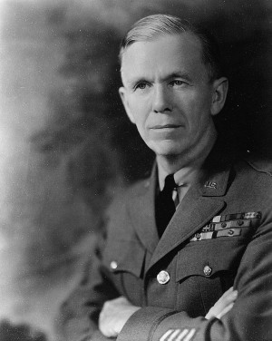 George C. Marshall, secretary of state under President Truman and ...