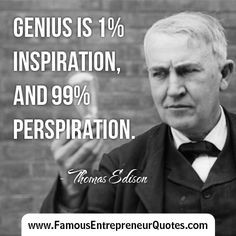 THOMAS EDISON QUOTE: