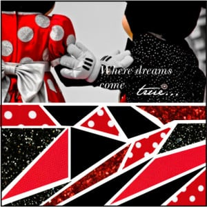 Mickey and Minnie Mouse - Polyvore