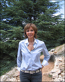 Nora Jumblatt Wife Of Druze Leader Walid Pioneers Cedar Conservation ...