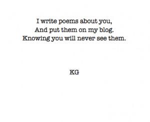 black and white tumblr poems