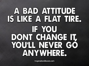Quotes to change bad attitude