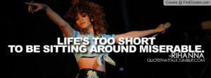 Rihanna Quote ...' Profile Facebook Covers