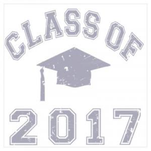 CafePress > Wall Art > Posters > Class Of 2017 Graduation Wall Art ...
