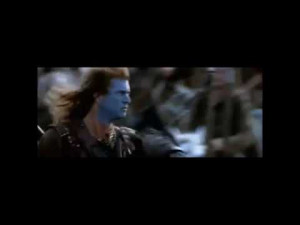 William Wallace Freedom Speech from Braveheart Movie (Mel Gibson ...