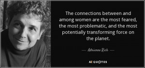 Adrienne Rich Quotes