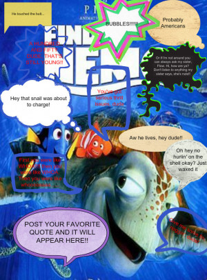 BEST Finding Nemo Quotes