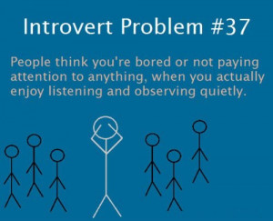... | Category: Funny Pictures // Tags: Introvert problem // April, 2013