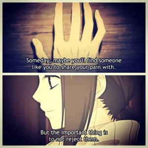 Anime I Love You Quotes Say i love you