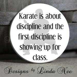 Karate Discipline Sayings