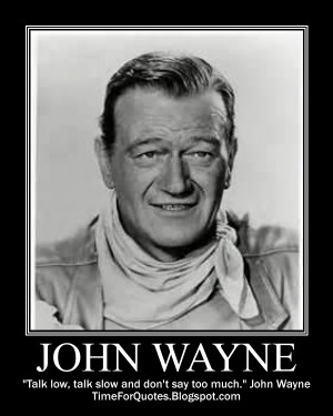 ... typecast in western films read more about john wayne at wikipedia
