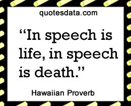 Picture Popular Hawaiian proverbs >>More....